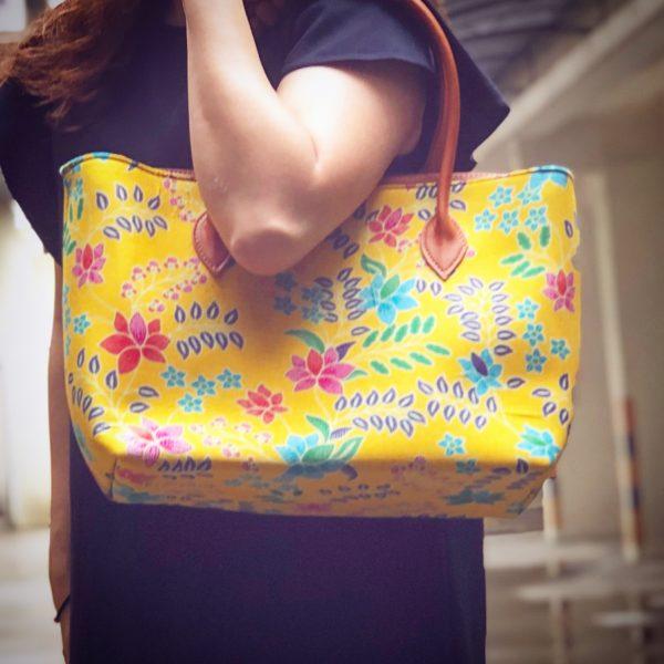 Mega Tote Batik Bag